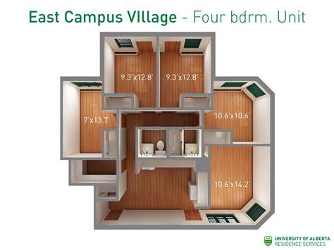 floorplan  dimensions   bedroom units  east