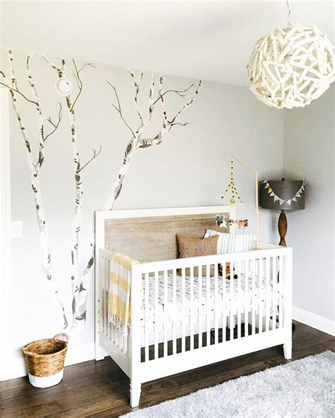 tree wall decor baby nursery rustic chic woodland nursery project nursery