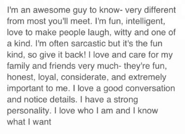 Writing perfect profile online dating jpg 375x273