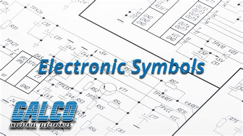 common electrical symbols used in industrial electrical diagrams a galcotv tech tip youtube