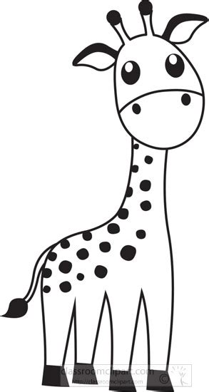 27 images of giraffe clipart black and white.you can use these free cliparts for your documents, web sites, art projects or presentations. Animals Black and White Outline Clipart - cute-giraffe ...