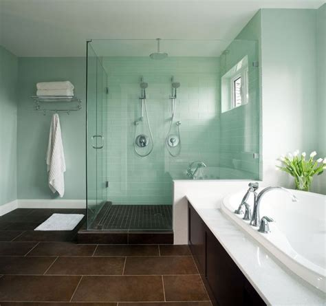Spa Green Bathroom by I Like This Color Maybe With A Pearl Glaze Seafoam