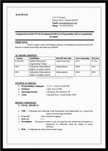 Resume format ms word file resume template easy http for Free resume format in word