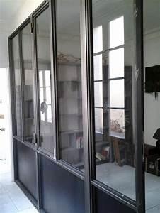 Verriere Interieure Metallique : verriere interieure ouvrante mb89 jornalagora ~ Premium-room.com Idées de Décoration