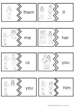 subject  object pronouns possessive pronouns