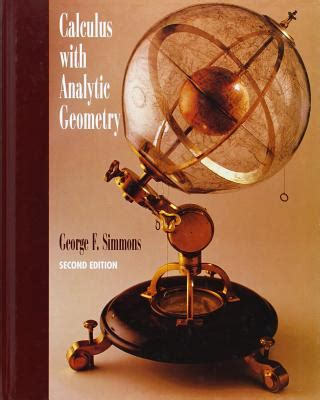 Calculus With Analytic Geometry Book By George Finlay