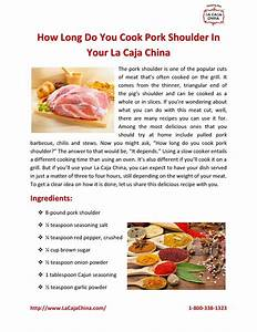 Do You Love Roasting Pork  Check Out Our Pdf Guide To