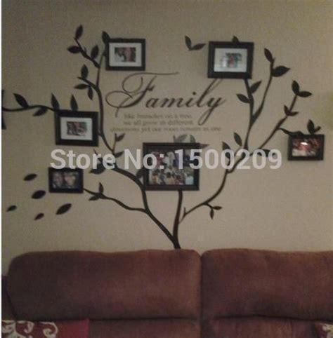 stickers muraux citations pas cher pas cher family tree wall decal stickers muraux vinilos decorativos acheter autocollants