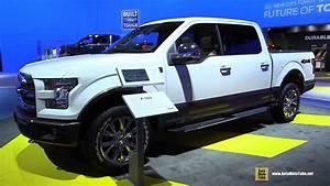 2015 Ford F150 Lariat - Exterior And Interior Walkaround - 2014 La Auto Show