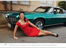 Curveside Classics US Cars & Girls Calendar 2015
