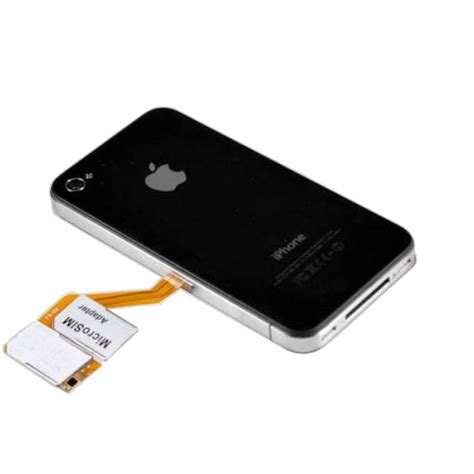 iphone 4 adapter x 4 sim adapter with protective for
