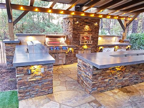 outdoor kitchen sacramento custom outdoor kitchens