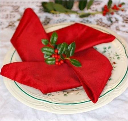 pliages de serviettes pour noel pliage serviette noel
