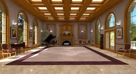 living  dining room architectural renderings