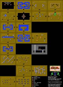 Dungeon Four Map The Legend Of Zelda Wiki Guide Ign