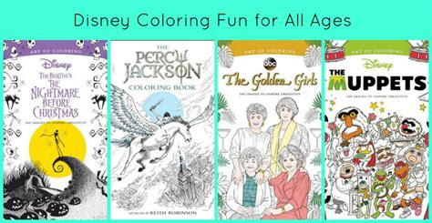 art  disney coloring books fun   ages