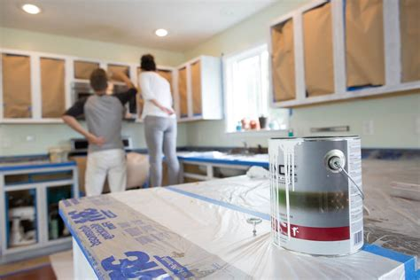 best type of paint finish for kitchen cabinets the best paint for painting kitchen cabinets kitchn