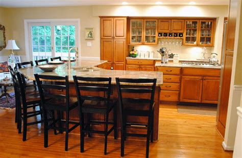 kitchen island with seats island that seats at least 8 kitchen seat 5223