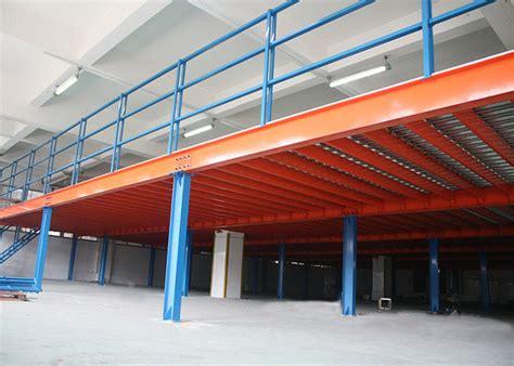 Steel Mezzanine Floor Construction For Storage