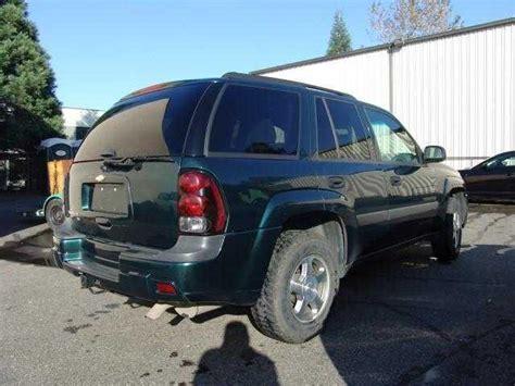2005 Green Chevrolet Trailblazer Ls 4dr Suv