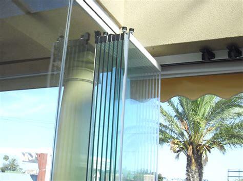 mur de verre escamotable ouverture totale
