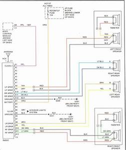 Chevy Cavalier Radio Wiring Diagram