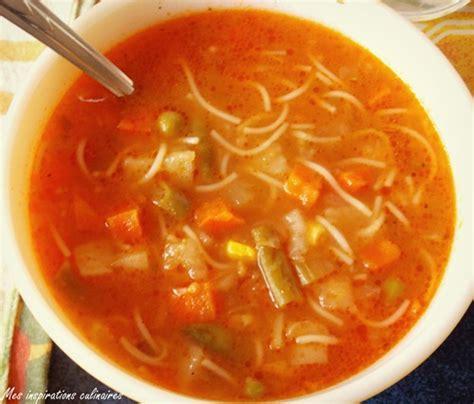 cuisine marocaine facile ramadan soupe aux legumes express et facile le cuisine de
