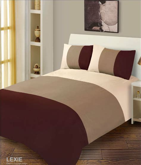 Chocolate Brown Duvet Covers by Chocolate Brown Duvet Cover Microfibre Bedding