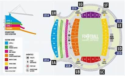 Stadium Harbour North Seating Plan Map Nz