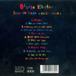 into the light movie gloria estefan into the light world tour 1992 tv tv