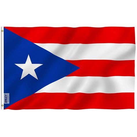 ANLEY Fly Breeze 3x5 Foot Puerto Rico Flag - Vivid Color ...