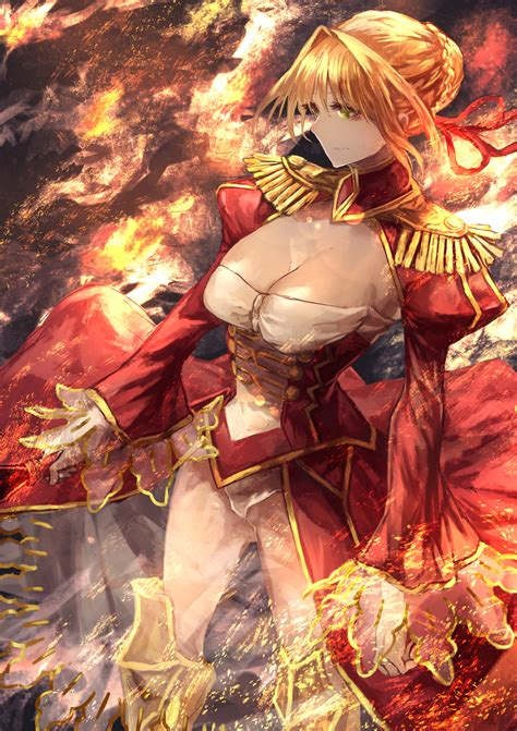 wallpaper signo aaa fate series fate grand order nero