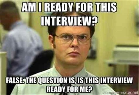 The Funny Side Of Job Interviews