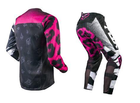 female motocross gear fox mx 2015 180 black pink ladies girls mtb motocross dirt