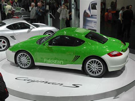 maserati pakistan green posts pakistani flag coloured cars