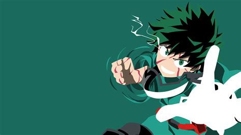 midoriya smash vector wallpaper   hd wallpapers