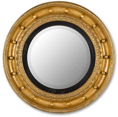 Round Beveled Mirror by Regency Mirror Regency Style Round Mirror