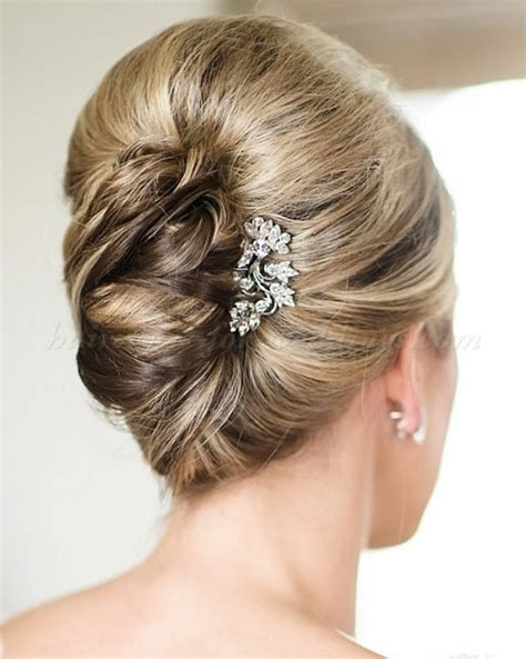 elegant french twist updos   inspired weddingomania