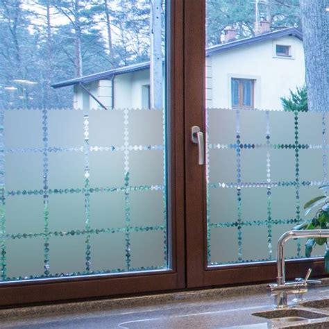 stickers occultant rideaux timbres decoration de vitre