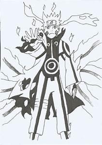 Naruto Bijuu Mode 2 by lukisdev on DeviantArt