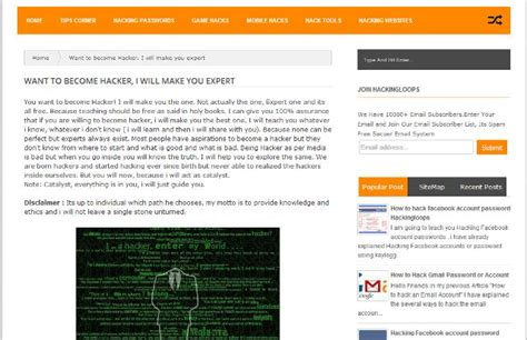 best hacker website best websites to learn ethical hacking 2018