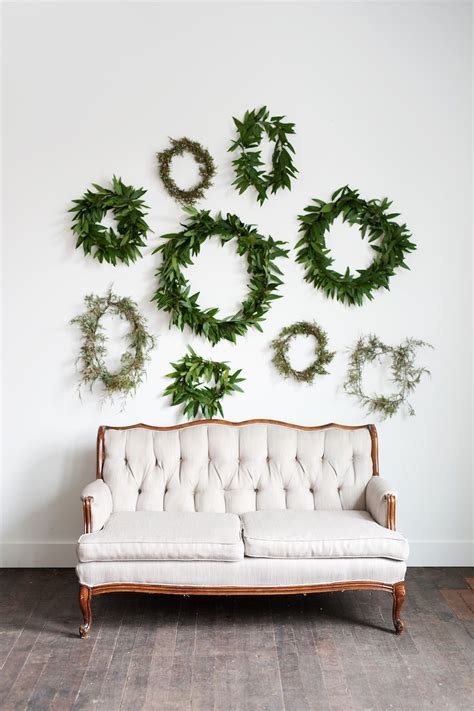 Wall Of Wreaths Wreath Wall Greenery Wedding Backdrop