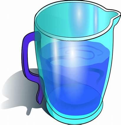 Jug Water Clipart Pitcher Cup Clip Mug