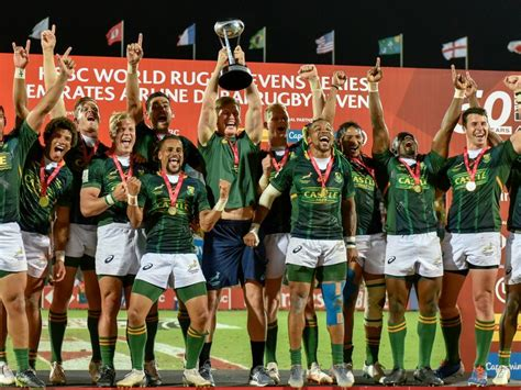 south africa win dubai rugby sevens rugby gulf news
