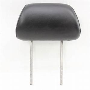 Rh Front Headrest Black Leather 02
