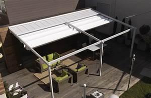 la pergola modulable toiture decouvrable abri terrasse With abri de terrasse en toile