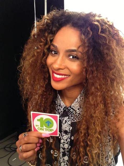 Ciara Curly Hairstyles by Pin On Ciara