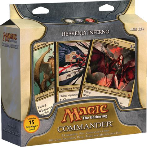 heavenly inferno deck list commander edh decks