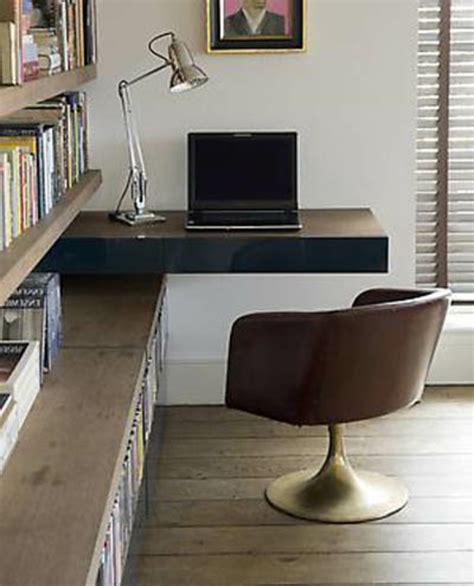 meuble bibliothèque bureau intégré designs uniques de bureau suspendu archzine fr