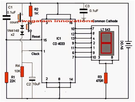 Making Electronic Scoreboard Using Counter
